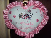 FIOCCO NASCITA HELLO KITTY