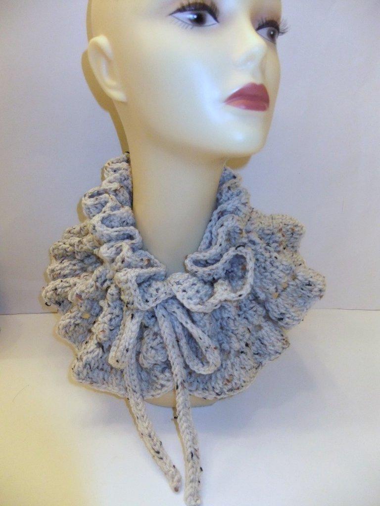 Handmade Crochet Neckwarmer/Scarf