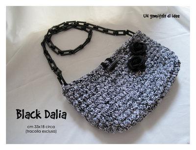 Borsa mod. Black Dalia