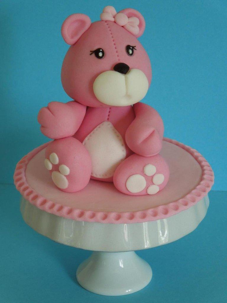 cake topper orsetto