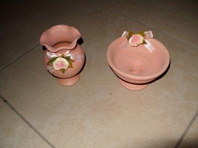 Vasi terracotta e das (pink)