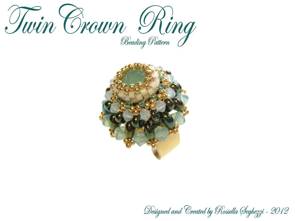 Anello Twin Crown