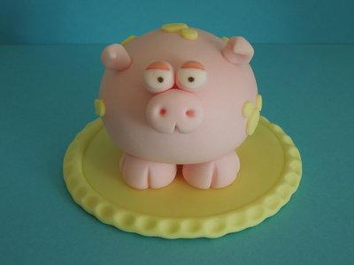 cake topper maialino