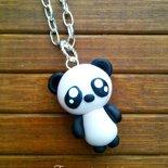 Collana con ciondolo panda