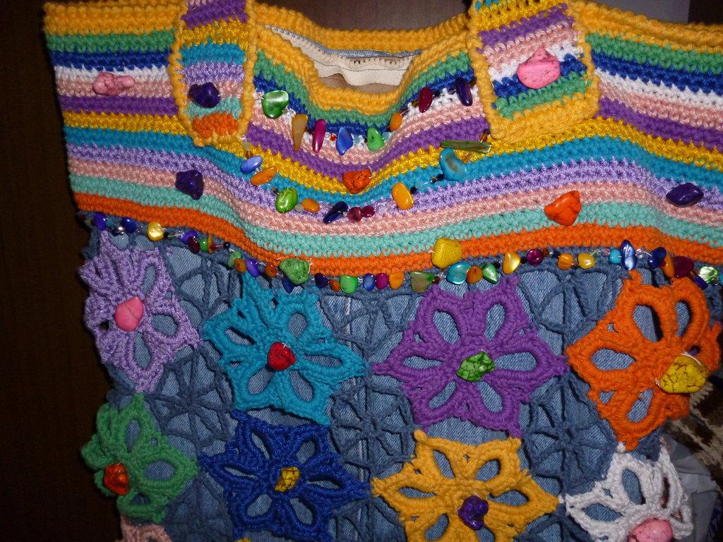 borsa multicolor