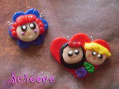 Faces charms