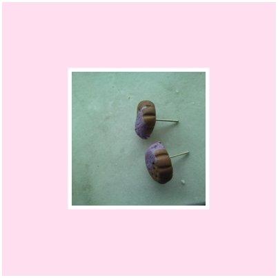 Orecchini biscottini con glassa