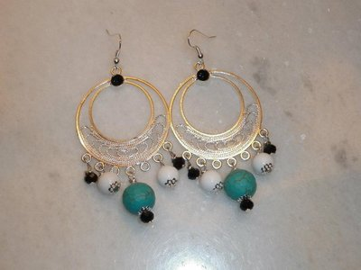 orecchini turchesite