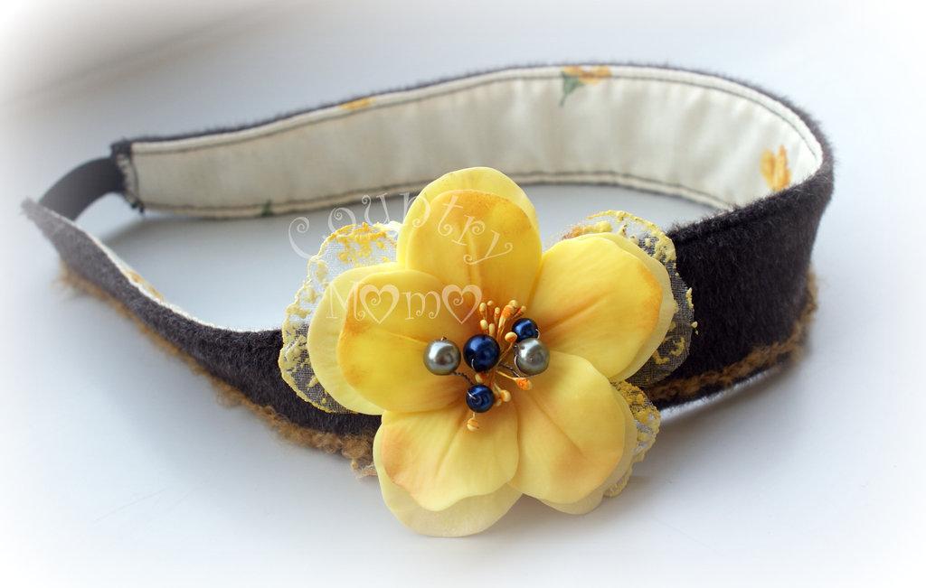 """flower headband"" ""SALDI"""