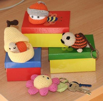 Llaveros con muñecos