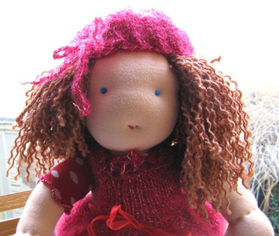 Bambola Waldorf fatta a mano Bambole handmade waldorf doll