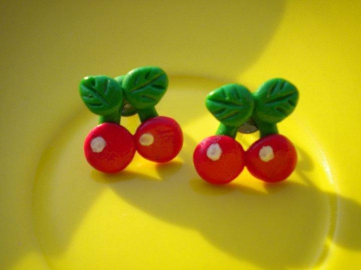orecchini ciliege