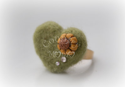 "anello felt ""sunflower"""