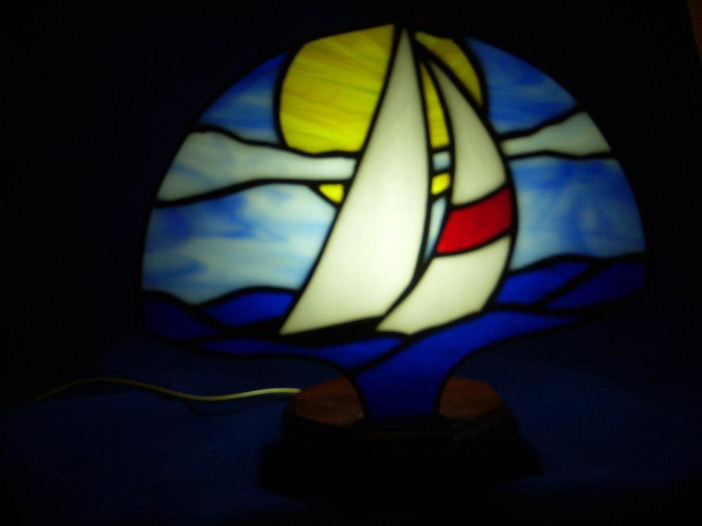 sailboat fan lamp