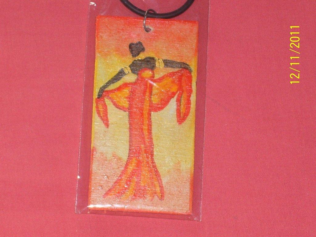 collane etniche ( danzatrice africana)