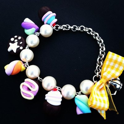 bracciale perle & yummy