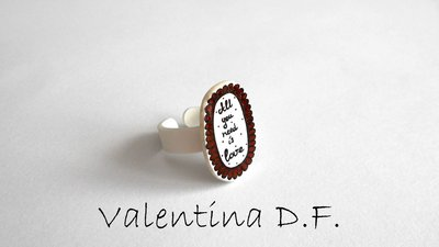 Anello All you need is love
