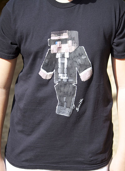 Minecraft Mr. Smith  t-shirt