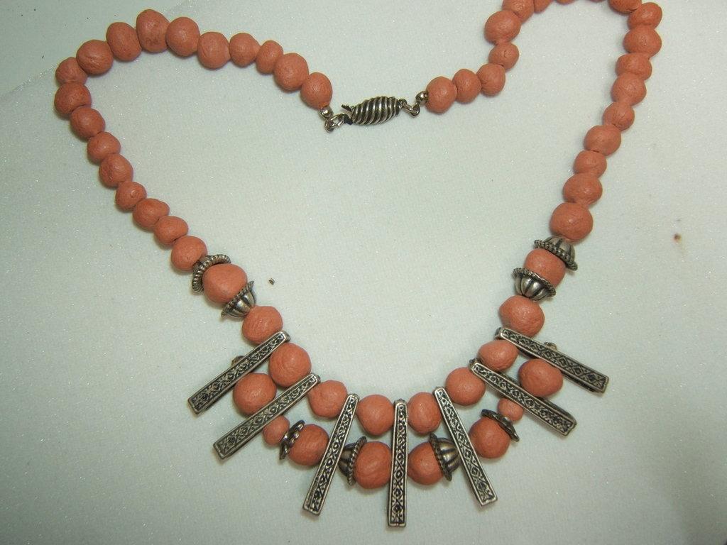 collana argento tibetano, Tibetan silver necklace