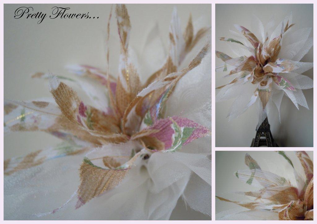 Pretty Flowers Spilla
