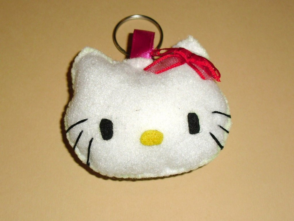 cod. F01 portachiavi hello kitty
