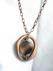 collana lunga bronzo
