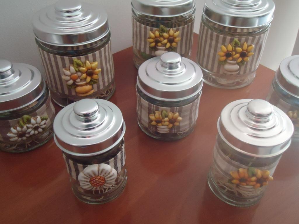 Barattolo vetro con ceramica - Per la casa e per te - Cucina - di D ...