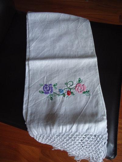 Asciugamano di cotone ricamato cod.3