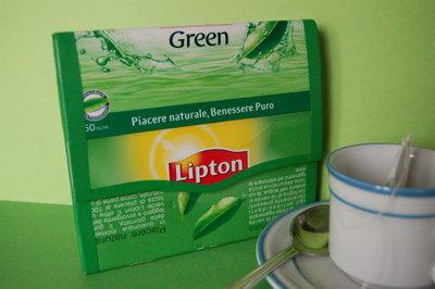 Portafoglio tè Lipton Green