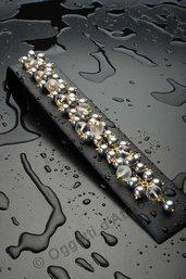 Bracciale perle e cristallo di rocca