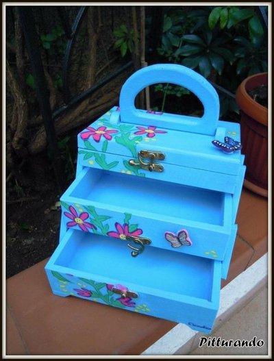 portagioie con farfalle