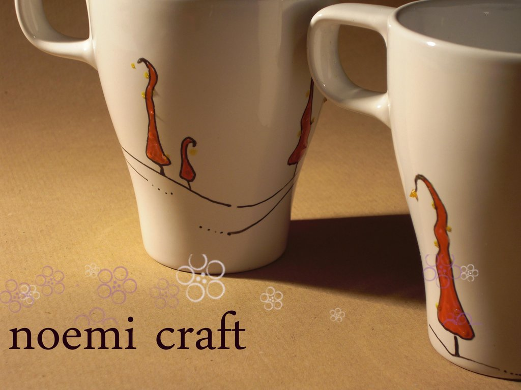 tazza mug, alberelli