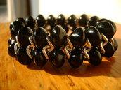 bracciale con pietra onice