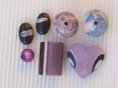 7 perlone lilla e viola vend.
