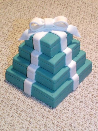 Pacchetti regalo Tiffany fimo