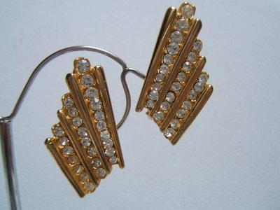 orecchini bigiotteria vintage anni '80