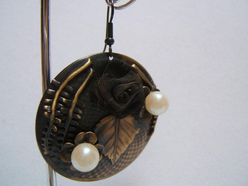 orecchini bigiotteria artigianale
