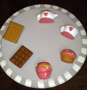 "Magneti ""Tea Time Collection""/ Cute magnets for your kitchen"