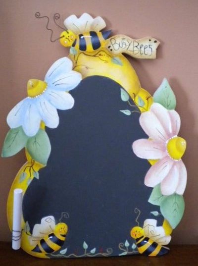 Lavagna apine operose/Busy Bees chalkboard