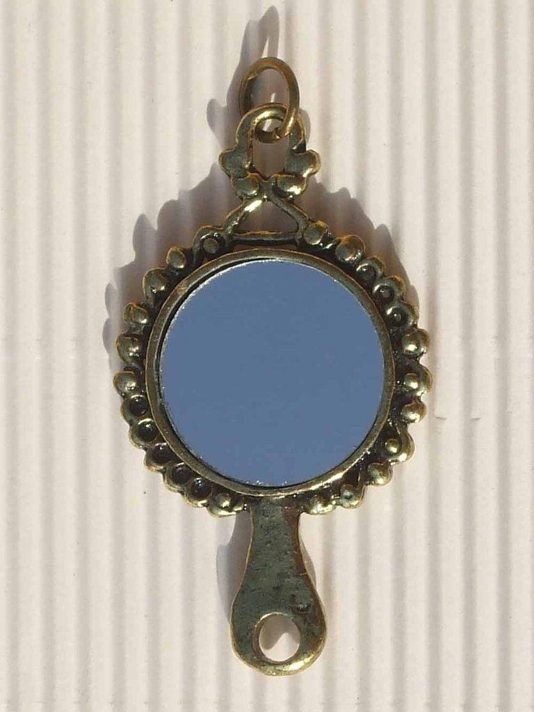1 charm specchio doppio 55x30mm vend.