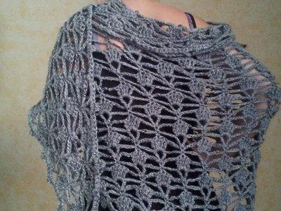 Scialle Triangolare Lungo Donna Abbigliamento Di Vestire L
