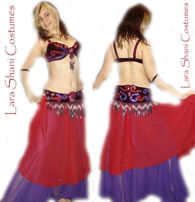 Vestito professionale danza del ventre
