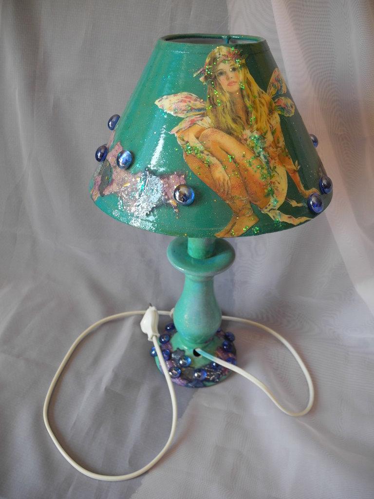 Lampada decorata