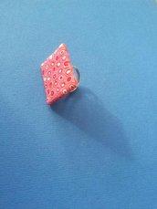 Anello murrina rosa
