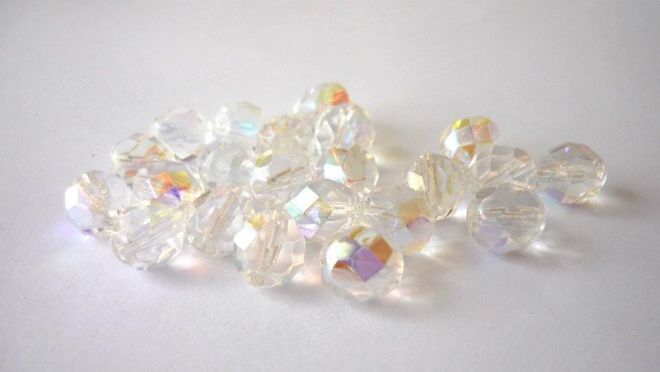 25 Cristalli Preciosa Round Crystal AB