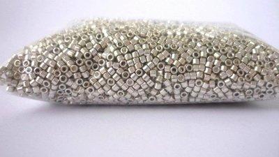Miyuki Delica® 11/0 Galvanized Silver
