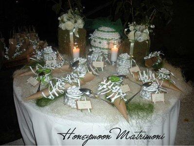 Palla di confetti feste matrimonio di honeymoon su - Confettata matrimonio a casa ...
