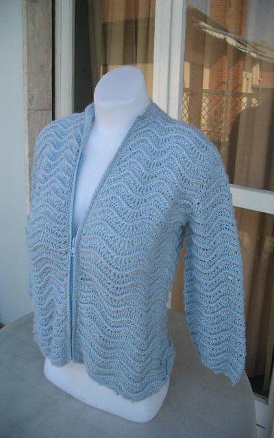 Maglione Azzurro