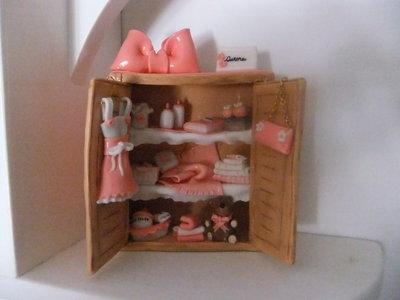 armadio in miniatura