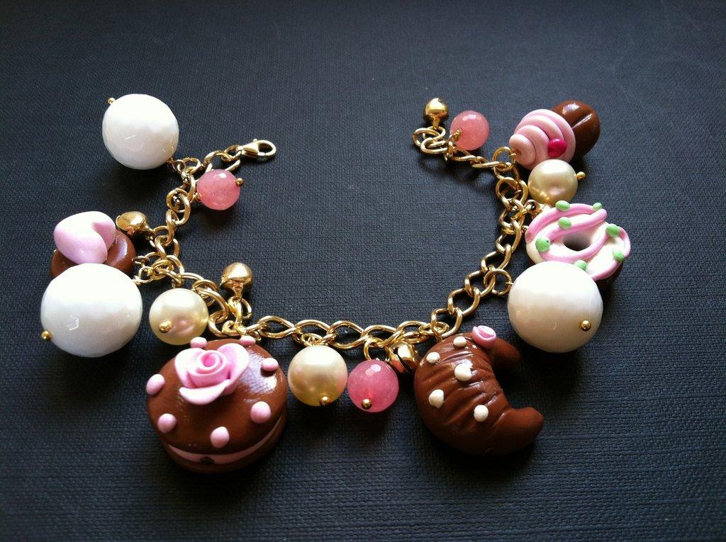 bracciale fragola & Cioccolato